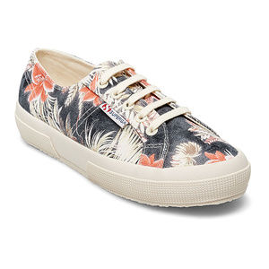 SUPERGA | Anthro Natural Maui Floral Sneakers